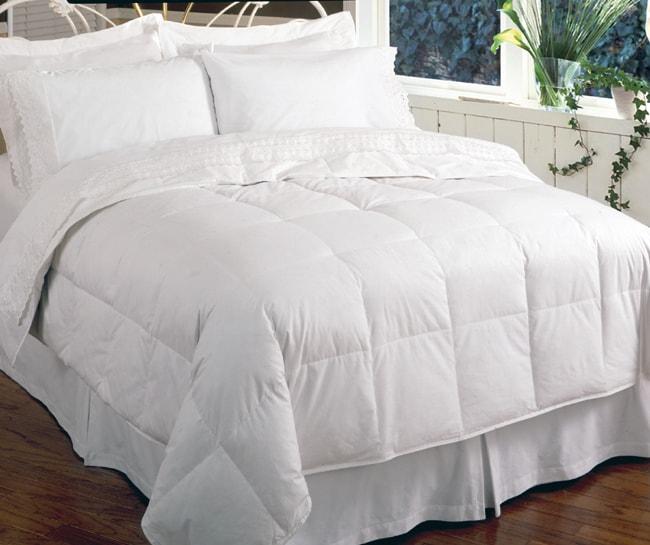 European Lightweight 300 Thread Count Down Comforter