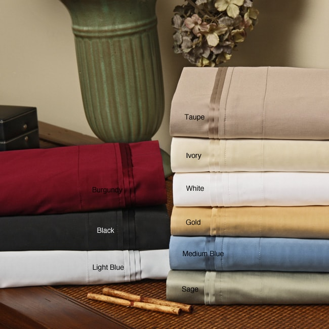 Egyptian Cotton 800 Thread Count Queen-size Waterbed Sheet Set