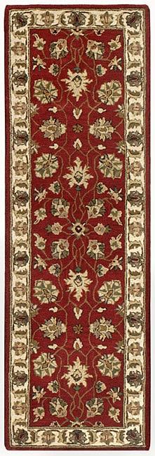 Handmade Elite Traditional Wool Runner Rug (2'6 x 12')