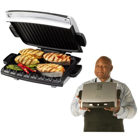 George Foreman 100 sq. in. Nonstick Surface Indoor Cooking Grill