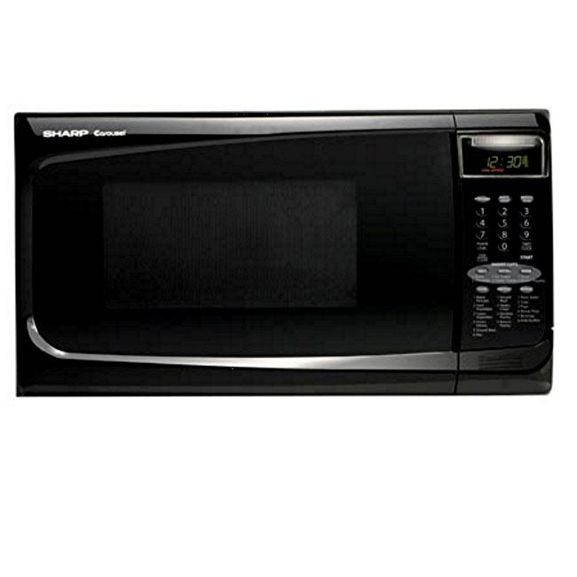 Shop Sharp Carousel Microwave Oven Free Shipping Today