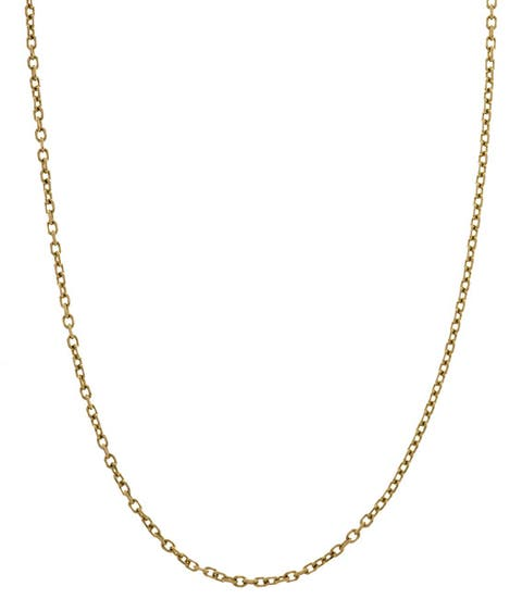 Roberto Martinez 14k Yellow Gold 14-inch Child's Cable Necklace