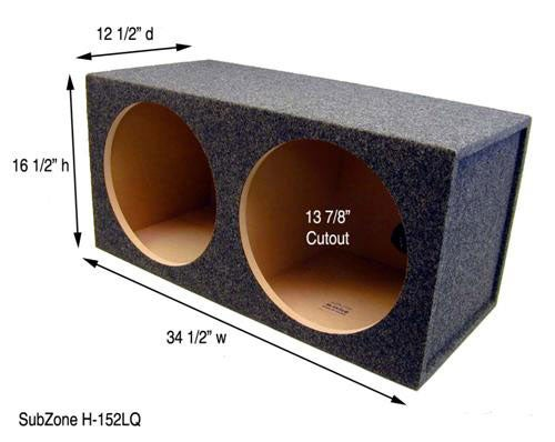 Dual 15-inch Subwoofer Box