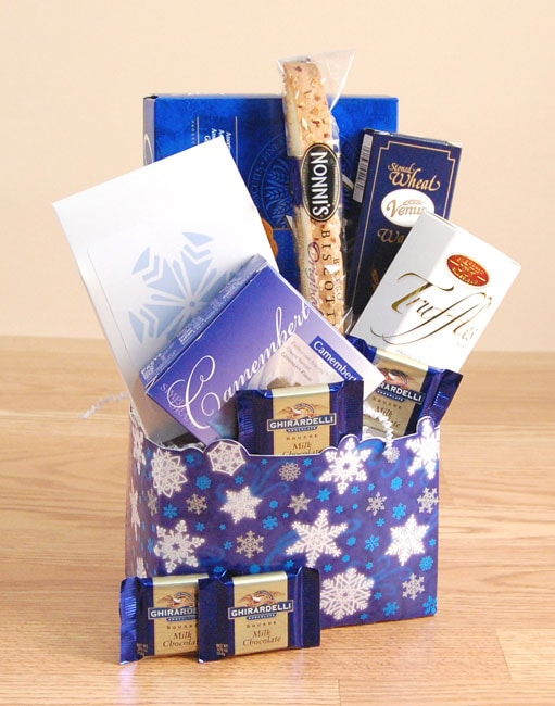 Winter Greetings Gift Basket