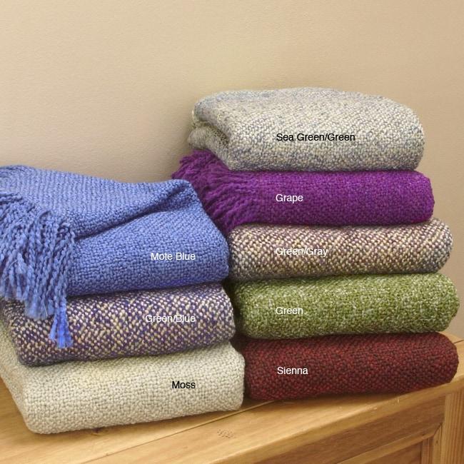 White Mountain Weavers Tweed Throw Blanket