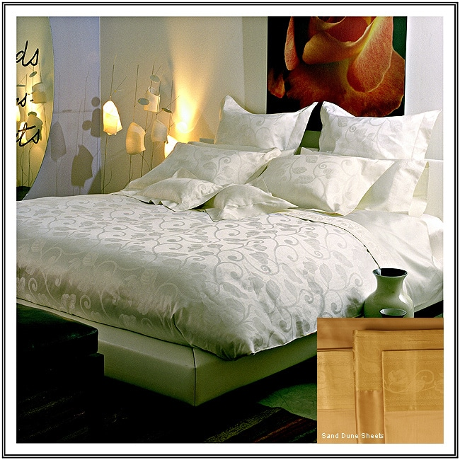 Michelangelo 310 Thread Count Egyptian Cotton Luxury Sheet Set made in Italy