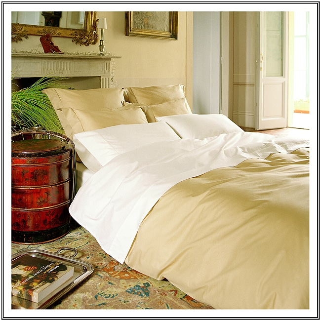 Amalfi 210 Thread Count Egyptian Cotton Luxury Sheet Set made in Italy