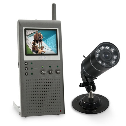 Wireless Outdoor Portable Video Security System