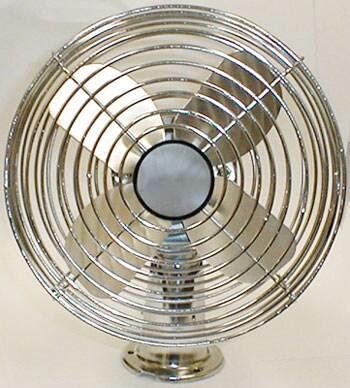 All Metal 12-volt Dash Fan