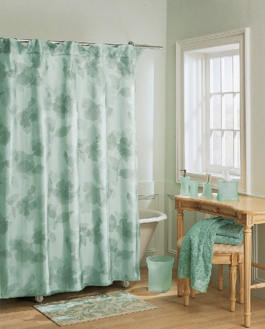 Shop Primavera Shower Curtain And Towel Set