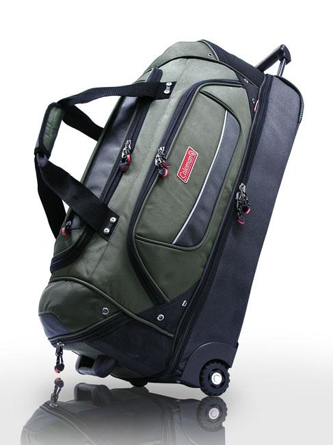 Coleman 30-inch Lightweight Rolling Drop-bottom Duffel Bag