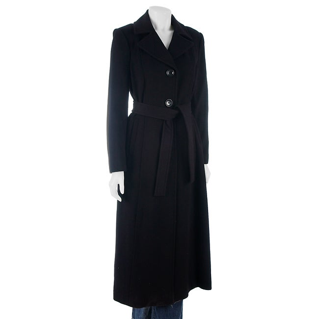 MICHAEL Michael Kors Long Wool Coat With Belt - Free Shipping ...