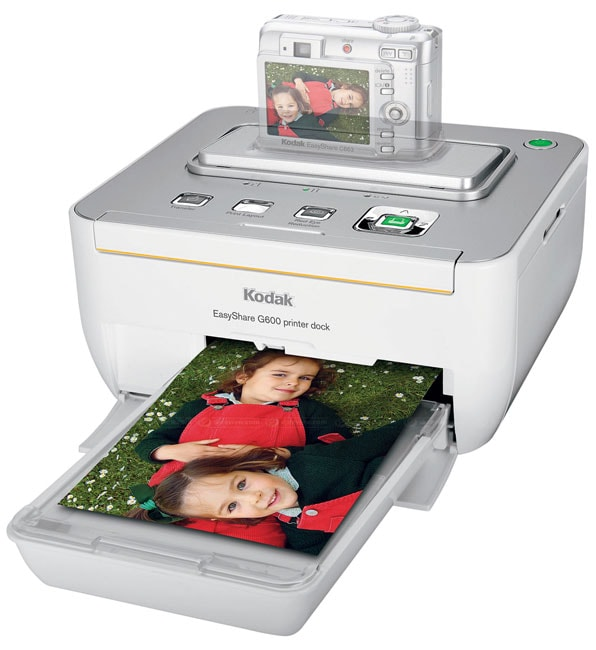 kodak c653 digital camera and g600 printer dock bundle