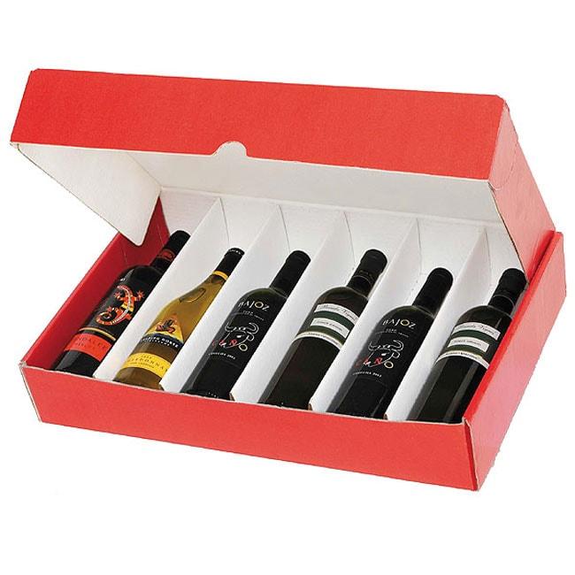 Select 6 Bottle Wine Gift Box