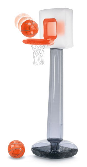 Inflatable Basketball Challenge