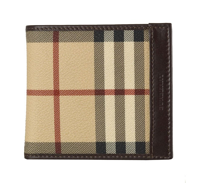 c606dfbfd9a5 Shop Burberry Men s Bi-fold Plaid Wallet - Free Shipping Today - Overstock  - 2680905