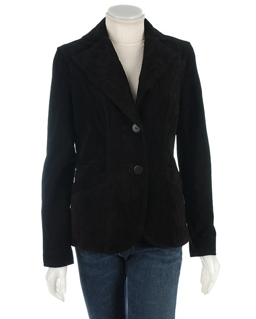 Mark Alan Women's Suede Blazer - Free Shipping On Orders Over $45 ...