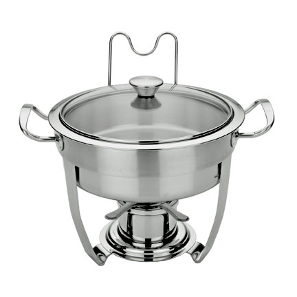 MIU France Stainless Steel 3-Quart Chafing Dish