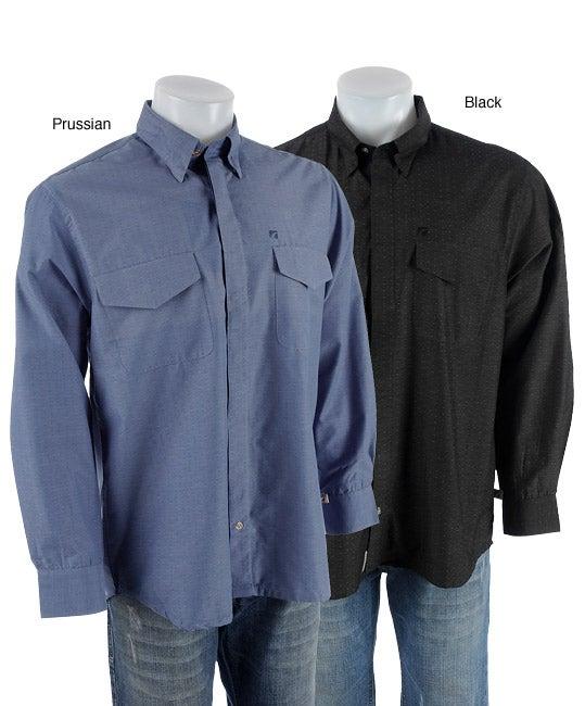 Road men 39 s hidden button down collar shirt free shipping for Hidden button down collar shirts