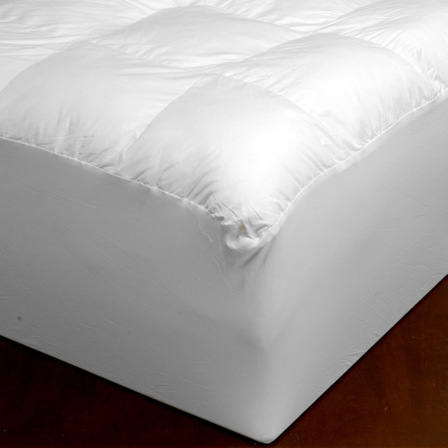 Beyond Down 300 Thread Count Synthetic Down Mattress Pad