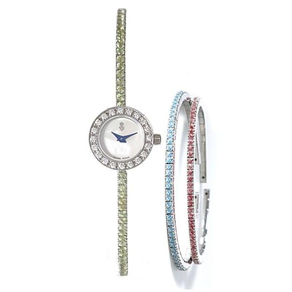 Corum Debutante Women's Gemstone Bracelet Watch