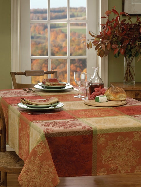 Fruitopia Cotton Jacquard Tablecloth