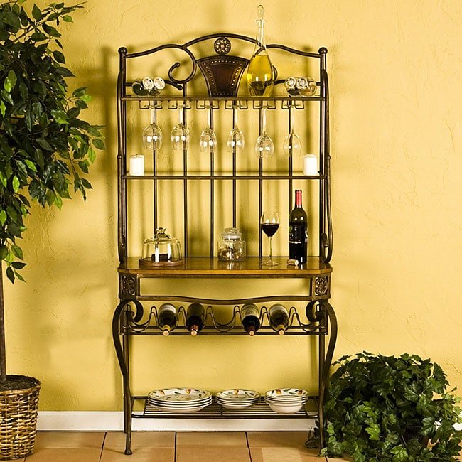 Decorative Bakers/ Wine Storage Rack - Thumbnail 0