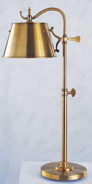 Shop Adjustable Vintage Brass Finish Pharmacy Table Lamp Free