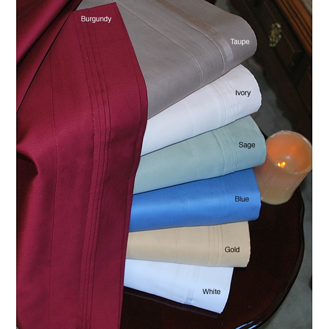 Superior Cotton 1000 Thread Count Solid Sheet Set
