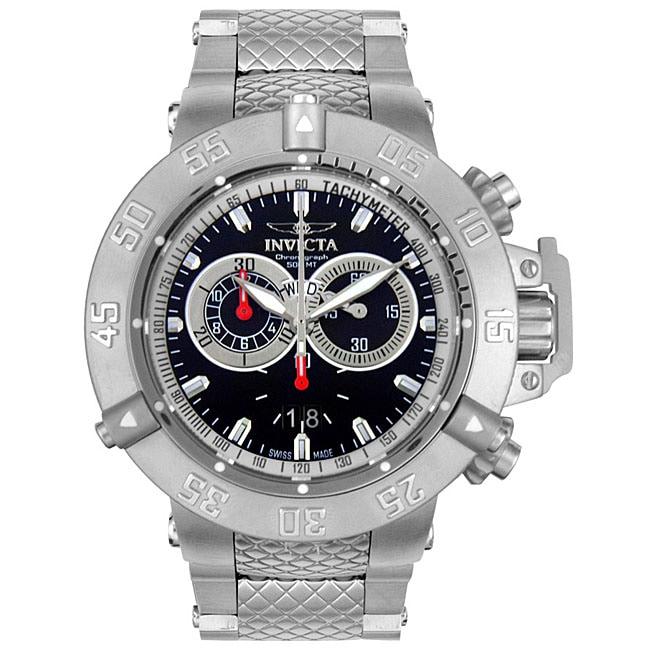 Invicta Men's Subaqua 500 Meter Chronograph Watch, Silver...