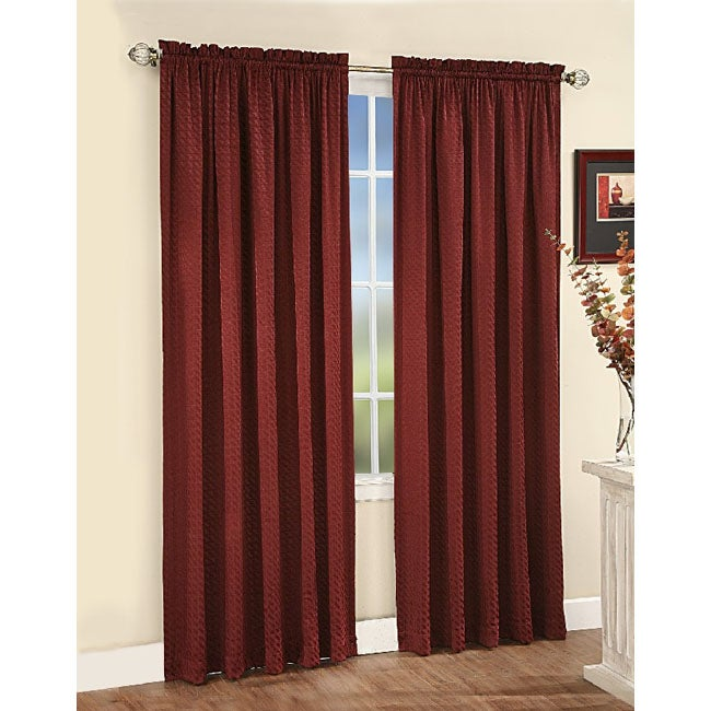 Trellis Window Curtain Panel (63 in. x 58 in.)