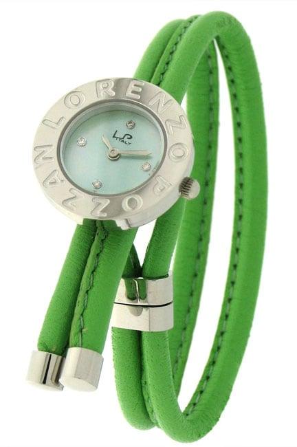 Lorenzo Pozzan 'Bolero' Kiwi Green Loopy Watch