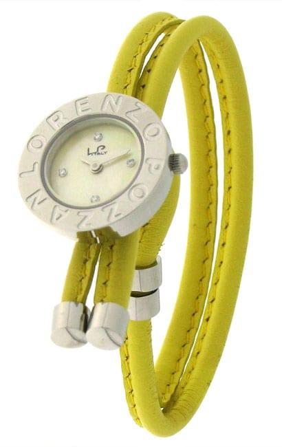 Lorenzo Pozzan 'Bolero' Women's Yellow Loopy Watch