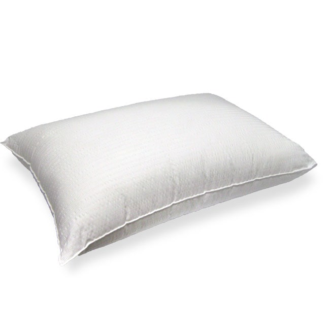 Simmons Deep Sleep Seersucker Bed Pillow Set