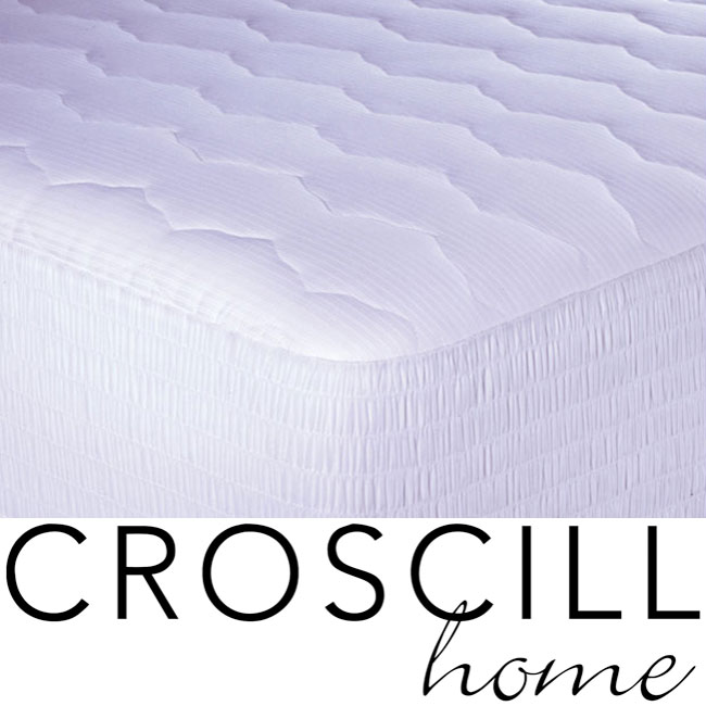 Croscill 600 Thread Count Pima Mattress Pad