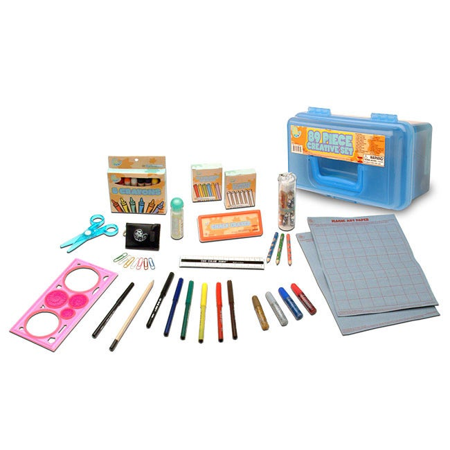 Toys-for-Tots: Creative 89-piece Art Set