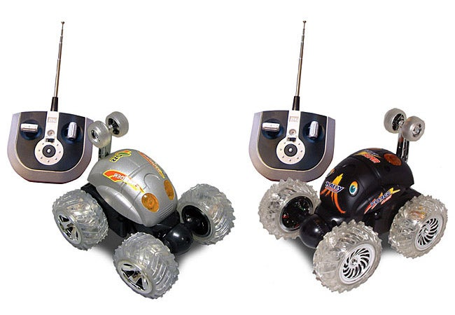 Toys-for-Tots: RC Turbo Tumbler with Light-Up Wheels