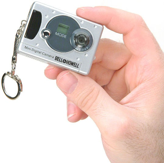 Toys for Tots: Bell Howell Keychain Digital Camera