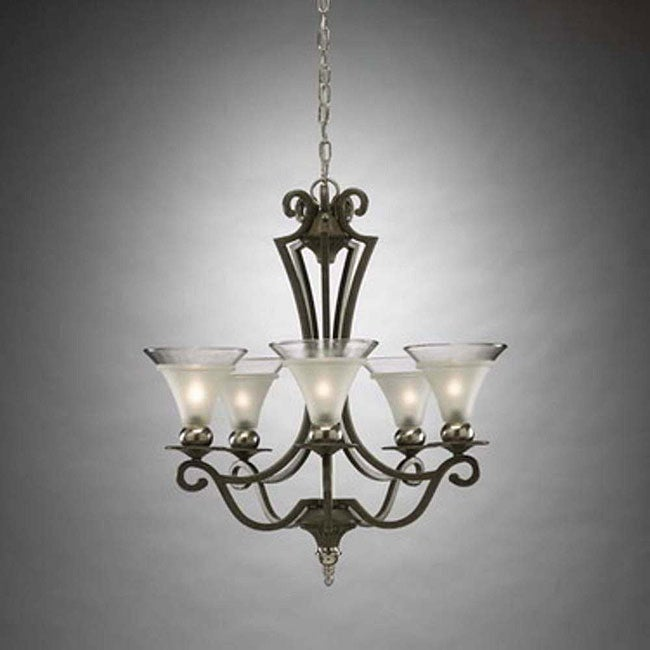 Tuscan Style 5-light Chandelier - Free Shipping Today ...