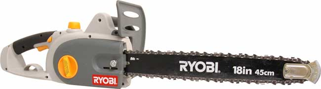 Ryobi 18-inch Electric Chainsaw (Refurbished)