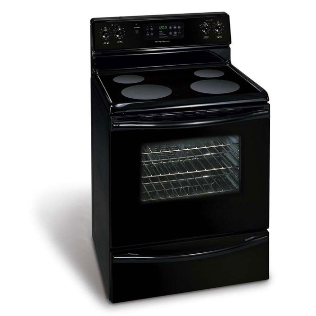 Frigidaire Electric Smooth Top Black Range Free Shipping