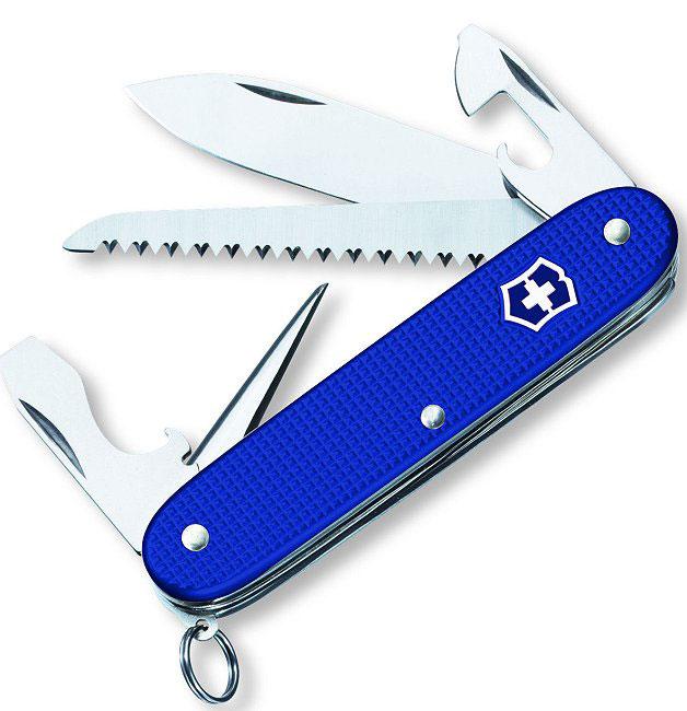 Blue Alox Swiss Army Knife