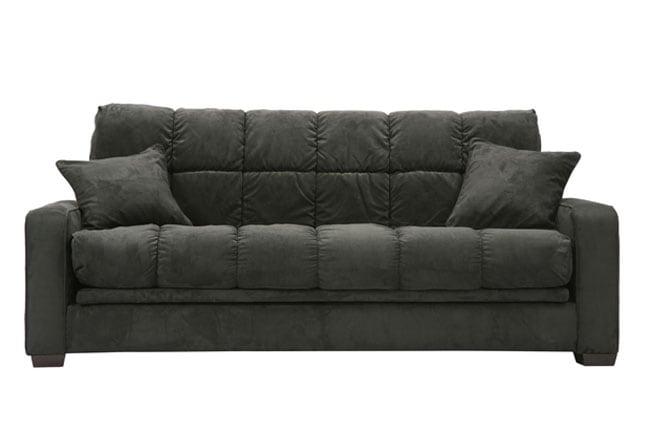 Soho Black Futon Sofa Bed