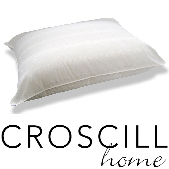 Croscill 300 Thread Count Check Bed Pillow Set