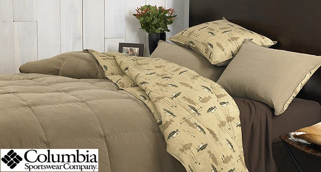 Columbia Okeechabee Bass 3-piece Down Alt Comforter Set