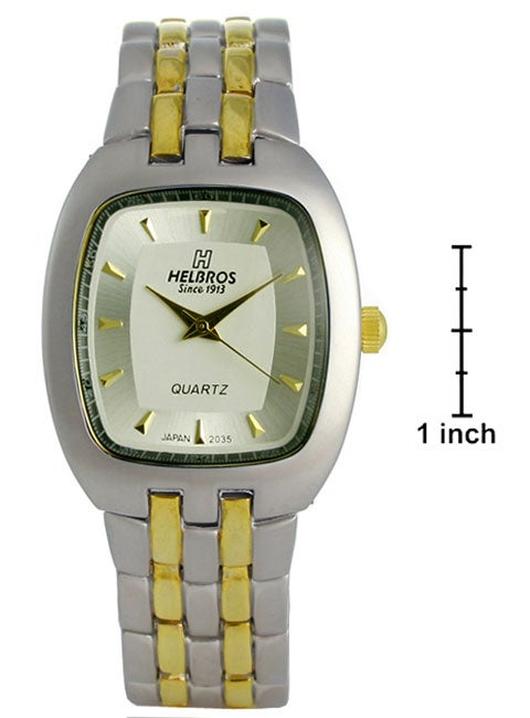 Helbros by Jules Jurgensen Men's Two-tone Watch - Thumbnail 0