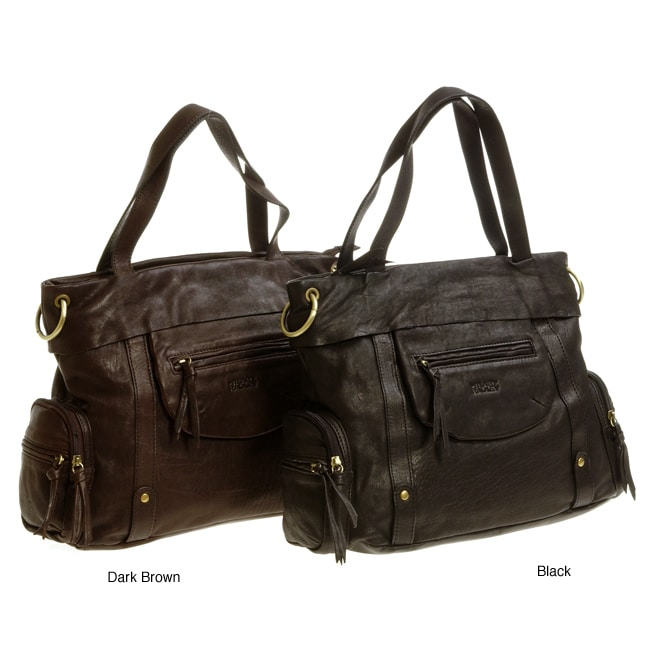 Hilary Radley Fold Over Tote Bag