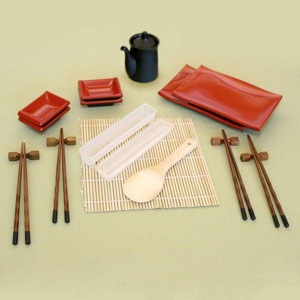 Complete 4-place Setting Sushi Kit