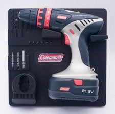 Coleman 21.6-volt 2-speed Cordless Drill with 2 Batteries