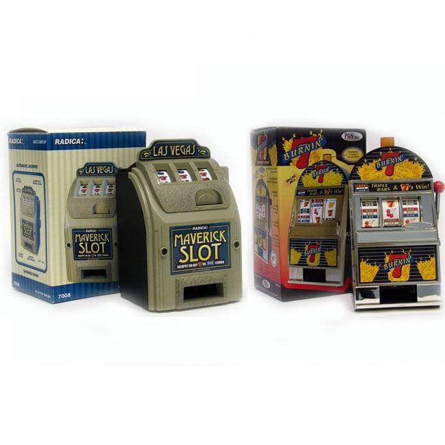 2 Slot Machine Banks Burning 7 S And Maverick Free